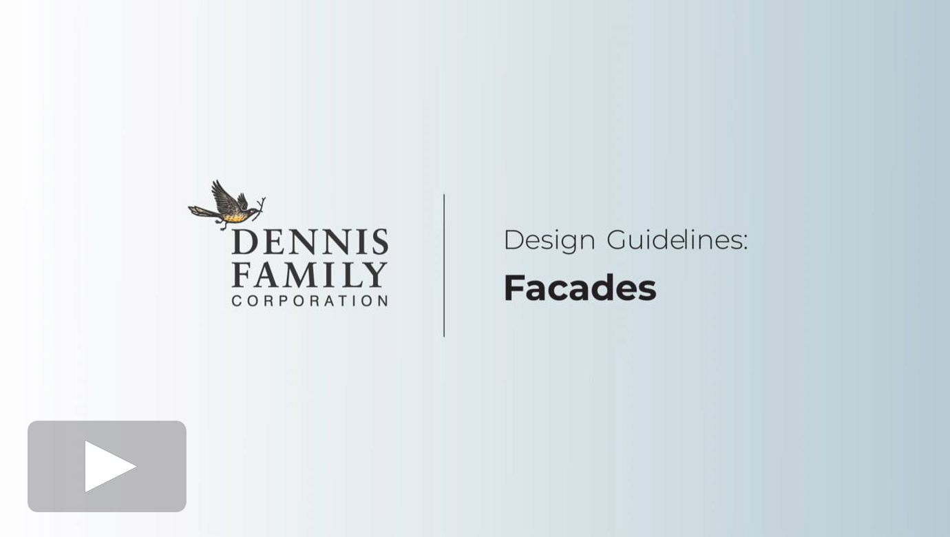 Design Guidelines - Facades