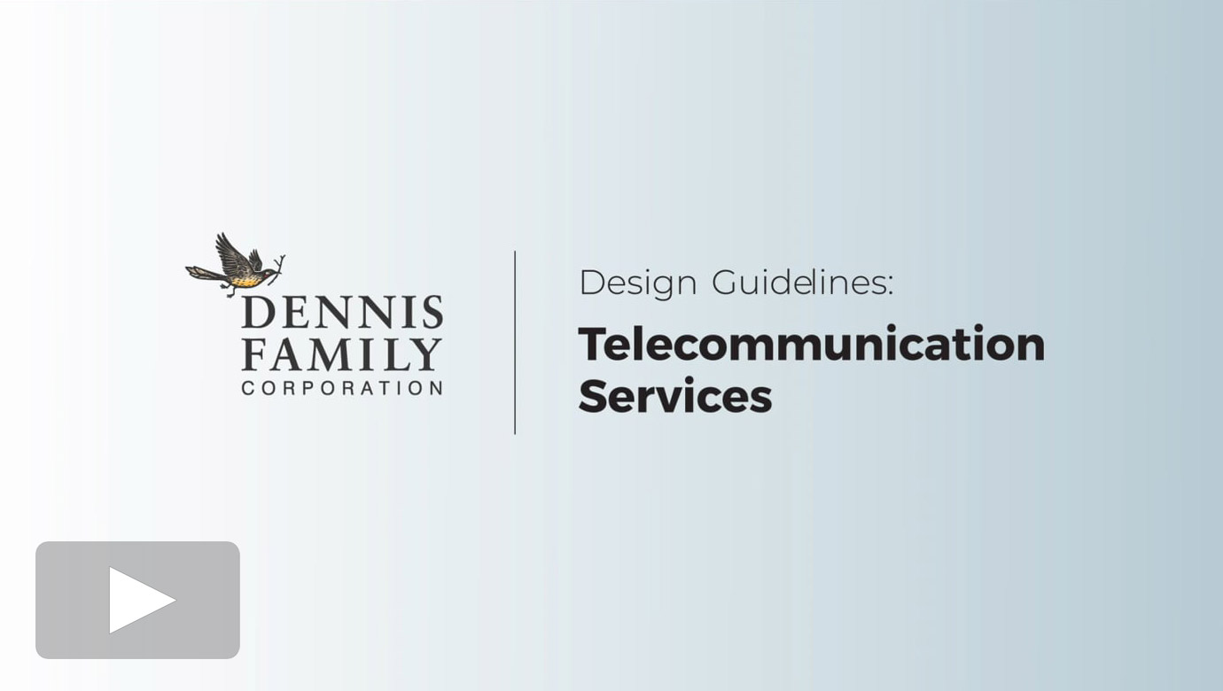 Design Guidelines - Telecommunications